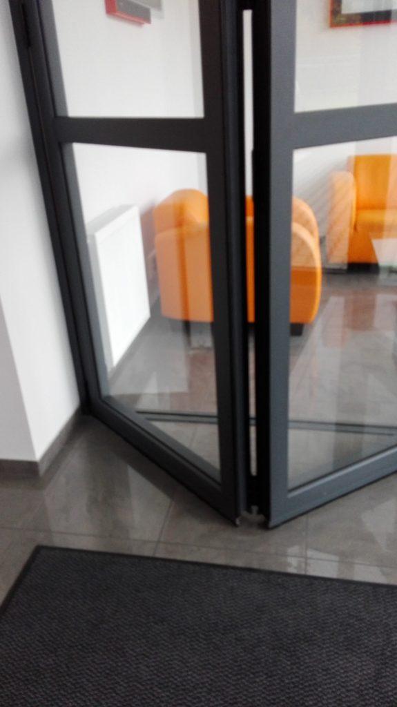 Haute Borne Portes Intérieurs Aluminium Noir Style Industriel